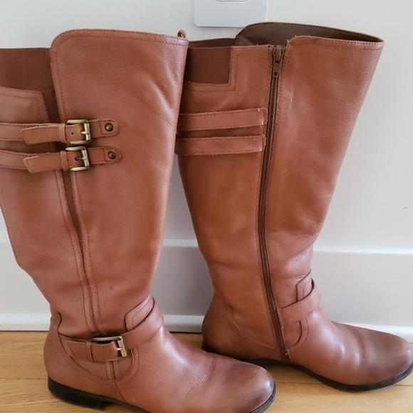 Naturalizer Jessie Wide Calf Boots
